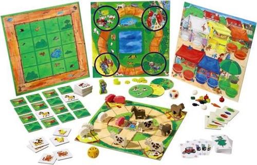 Haba  kinderspel Mijn eerste spelletjesdoos - De grote spelletjesverzameling van HABA 4687-1