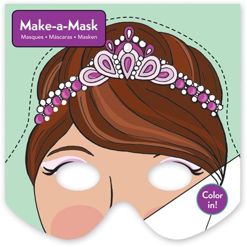 Mudpuppy maak-een-masker Prinsessen
