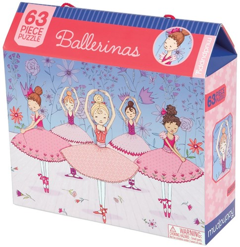 Mudpuppy Legpuzzel Ballerinas 63 stukjes