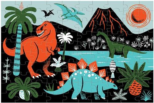 Mudpuppy Glow in Dark Puzzle/Dinosaurs