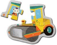 Mudpuppy Mijn Eerste Puzzel Bouwvoertuigen 4 puzzels van 3 stukjes-3