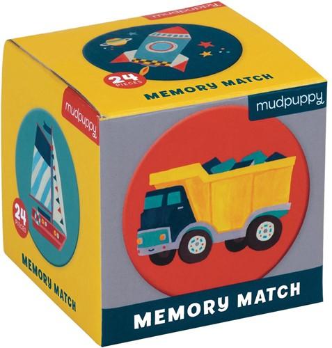 Mudpuppy Mini Memory Game - Transportation