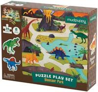 Mudpuppy Puzzel Play Set Dinosaur Park 36 stukjes