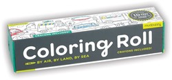 Mudpuppy Coloring Roll - By Air, Land and Sea
