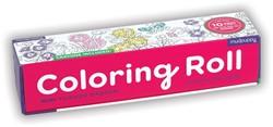 Mudpuppy Coloring Roll - Flower Garden