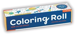 Mudpuppy Coloring Roll - Outer Space