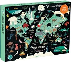 Mudpuppy 1000 PC Puzzle - Your World