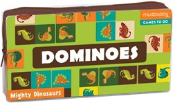 Mudpuppy domino Machtige dino's