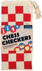 Mudpuppy schaken en dammen Geo dieren