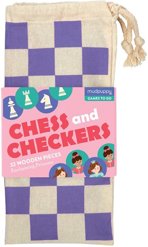 Mudpuppy schaken en dammen Betoverende prinses