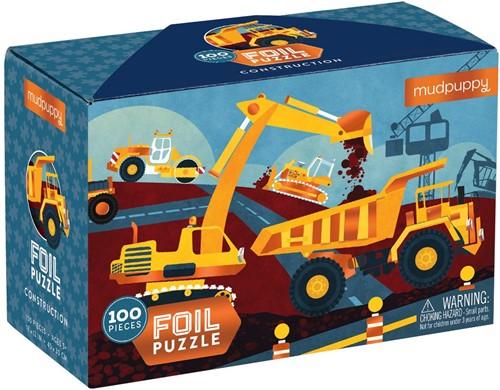 Mudpuppy 100 pcs Foil Puzzle/Construction