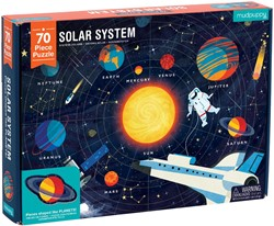 Mudpuppy 70 PC Geography Puzzle - Solar System