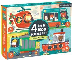 Mudpuppy 4 in a  Box - Transportation