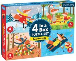 Mudpuppy 4 in a  Box - Four Seasons