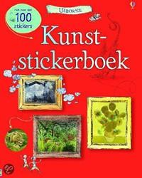 Usborne  stickers Kunststickerboek met 100 stick
