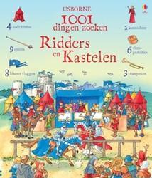 Usborne  doeboek 1001 dingen zoeken ridders