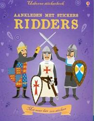 Usborne Aankleden met stickers: Ridders