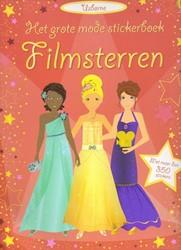 Usborne Het grote mode stickerboek: Filmsterren