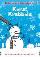 Usborne  reisspel Kerst krabbels