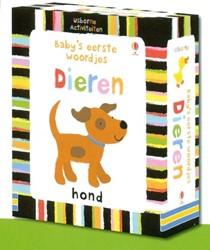 Usborne  babyboek Baby's eerste woordjes Dieren