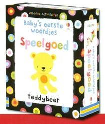 Usborne  babyboek Baby eerste woordje speelgoed
