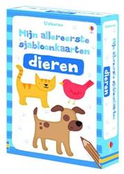 Usborne  doeboek Sjabloonkaarten Dieren