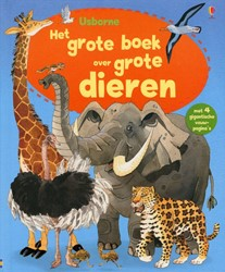 Usborne  doeboek Het grote boek over grote dieren