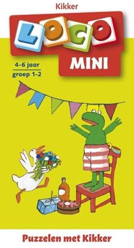 Loco Mini puzzelen met Kikker. 4 - 6 jaar