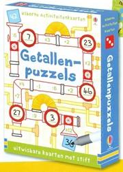 Usborne  reisspel Getallenpuzzels