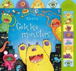 Kinderboeken  voorleesboek Gekke monsters met geluid