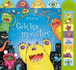 Usborne geluidenboek Gekke monsters