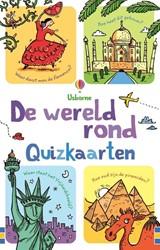 Usborne reisspel de wereld rond quizkaarten