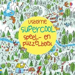 Usborne  doeboek supercool speel-en puzzelboek