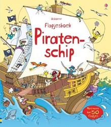 Usborne  voorleesboek Flapjesboek: Piratenschip