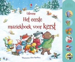 Usborne  doeboek Het eerste muziekboek kerst