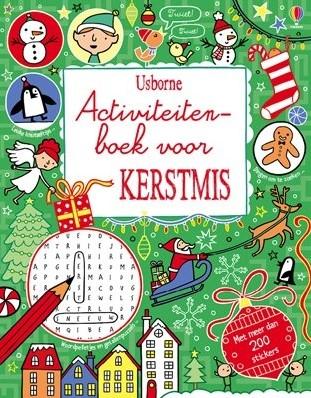 Usborne  doeboek Activiteitenboek voor Kerstmis