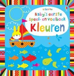 Usborne  babyboek speel en voelboek: Kleuren.