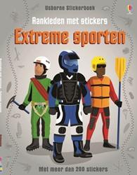 Aankleden met stickers: Extreme sporten.