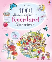 Usborne  stickers 1001 dingen zoeken in feeenland