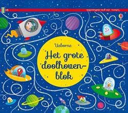Usborne  doeboek Het grote doolhovenblok