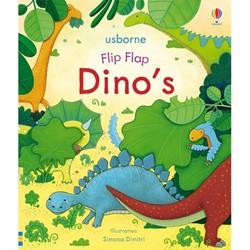 Usborne voorleesboek flip flap Dino's