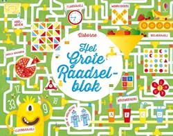 Usborne creatief boek Het grote raadselblok