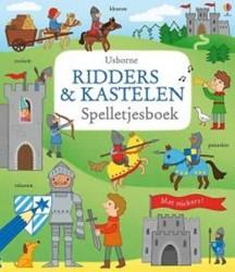 Usborne  doeboek Ridders en kastelen spelletjes