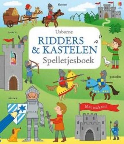 Usborne doeboek Ridders en kastelen spelletjesboek