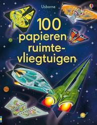 Usborne  doeboek 100 papieren ruimtevliegtuigen