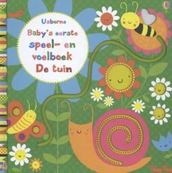 Usborne  babyboek speel en voelboek: De tuin.