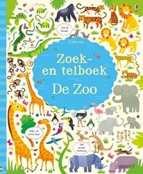 Usborne Zoek- en telboek - De zoo