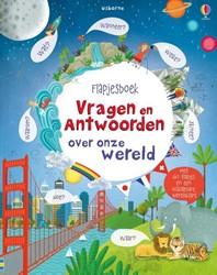 Usborne voorleesboek Flapjesboek vragen en antwoorden over onze wereld