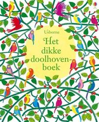 Usborne doeboek Het dikke doolhovenboek