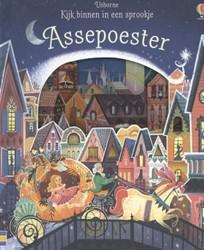 Usborne voorleesboek kijk binnen in een sprookje assepoester